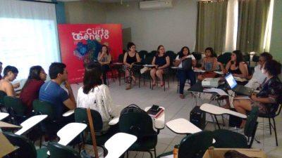 Roda de conversa em evento Curta o Gênero - 2018. Foto: Curta o Gênero