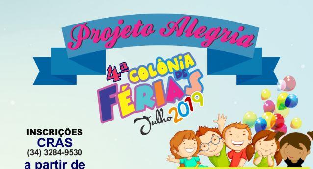 4° Colonia de Ferias Projeto Alegria