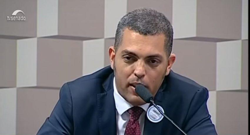 Luís César Cunha Lima, especialista em Direito Desportivo. Imagem: TV Senado