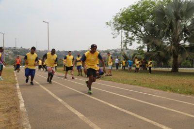 Jovens tiveram a oportunidade do contato com o esporte adaptado. Foto: Rafael Souza/Prefeitura de Três Corações