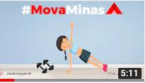 Mova Minas – Aula com a toalha