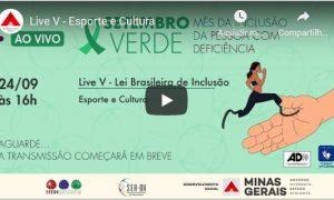 SETEMBRO VERDE – LIVE V – Esporte e Cultura