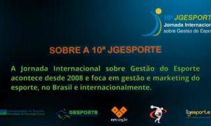 10ª Jornada Internacional sobre Gestão do Esporte – 27/11/2020 – Sessão 1