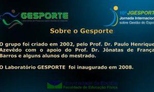 10ª Jornada Internacional sobre Gestão do Esporte – 28/11/2020 – Sessão 4