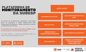 Observatório do Esporte lança dois painéis de dados inéditos: Ações SUBESP e Bolsa Atleta.