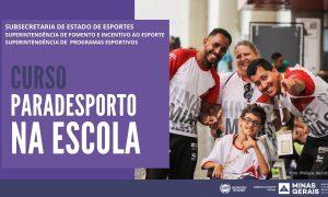 Observatório do Esporte da Sedese lança novo curso online com tema Paradesporto na Escola voltado a professores de educação física
