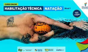 CPB abre inscrições para habilitação técnica em atletismo e natação e atualização técnica em parabadminton